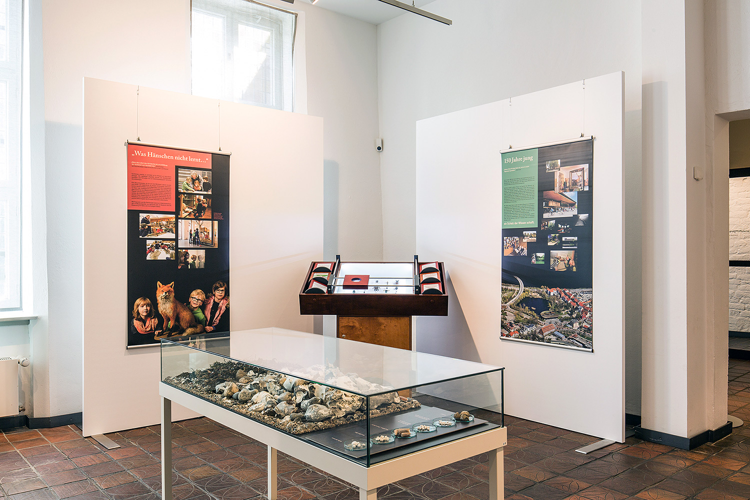 Use of Mila-wall Acoustic for a special exhibition at the Kulturhistorisches Museum Rostock